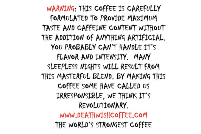 death wish coffee review caffeine and you