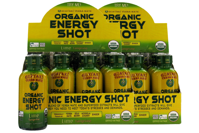 Energy shots are regulated as dietary supplements