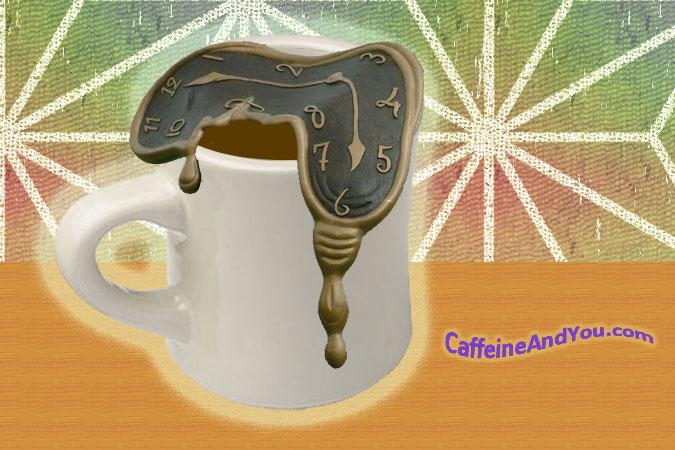 Caffeine's half-life is longer than cocaine's