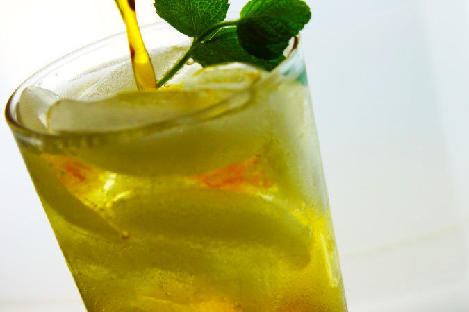 Mint Tea Syrup