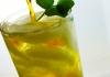 Sparkling Moroccan Mint Tea